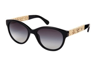 Chanel Chanel Black/Gold Sunglasses
