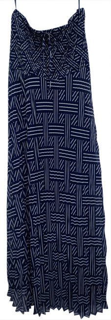 Preload https://img-static.tradesy.com/item/937245/andrew-charles-navy-blueprint-electric-pleated-long-casual-maxi-dress-size-10-m-0-0-650-650.jpg