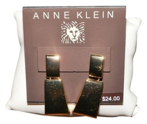 Anne Klein Anne Klein Gold Tone Drop Earrings