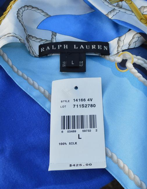 Ralph Lauren Top blue/white/Gold