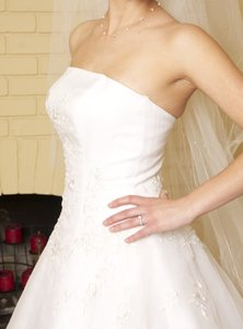 Monique Luo Cq110 Size 4 Wedding Dress