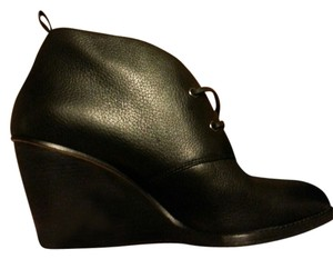 Cole Haan Size 11 Leather Black Wedges