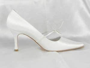 Filippa Scott Rosie Ivory Satin Wedding Shoes