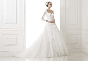 Pronovias Bour Wedding Dress