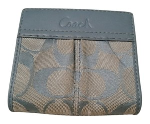 Coach Coach Blue Bifold Wallet