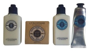 L'Occitane L'Occitane shower gel, hand cream, ultra rich lotion and shea butter soap