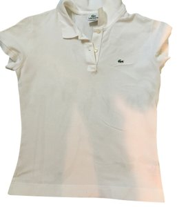Lacoste T Shirt White