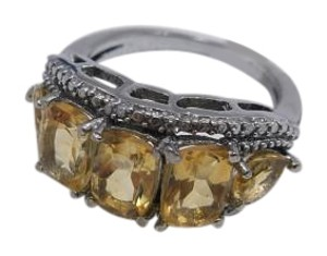 Other Size 7 Brazilian Citrine in Stainless Steel 3.5cts w Free Shipping