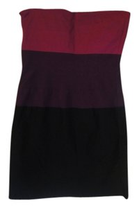 Wet Seal short dress tricolor on Tradesy