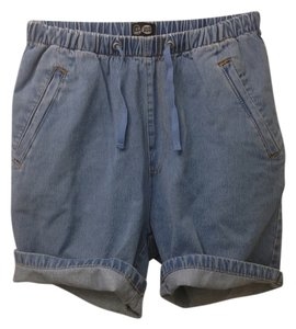 Cheap Monday Cuffed Shorts Denim