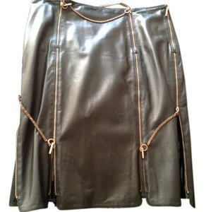 Fendi Skirt Black/chocolate