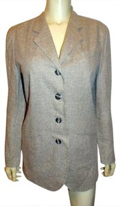 ANN TAYLOR Dress Jacket BEIGE TWEED Blazer