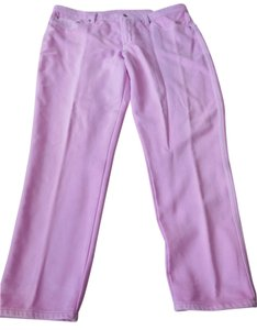 DG2 by Diane Gilman Plus-size 5-pocket Style Skinny Pants Lilac