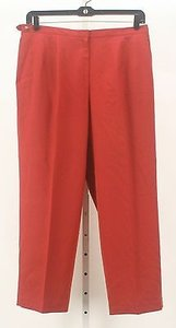 Talbots 16wp X Rust 100 Wool Adjustable Waist Trousers B142 Pants
