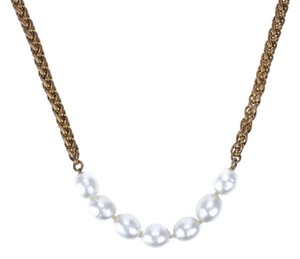 Chanel Chanel Vintage Gold Chain Pearl Necklace