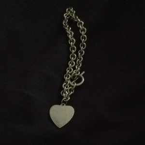 Unknown Sterling silver Heart Bracelet