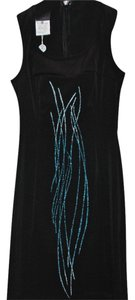 Versace Bluesequindesign Dress