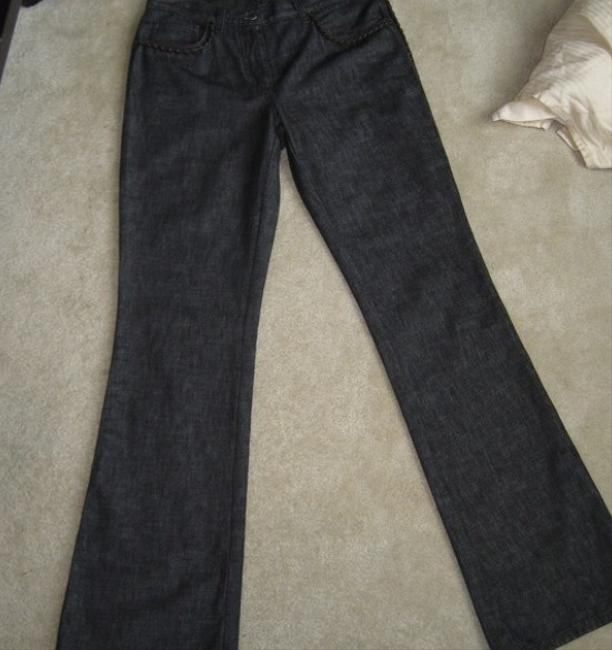 Fendi Boot Cut Jeans-Dark Rinse