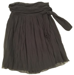 Theory wrap cotton silk voile skirt Skirt Black