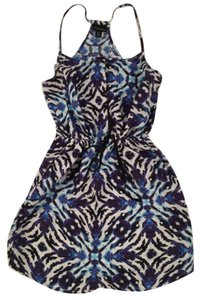 Cynthia Rowley printed linen dress Dress