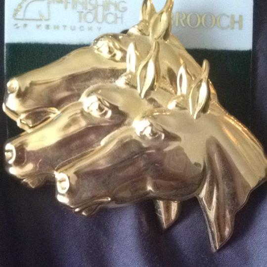 The Finishing Touch of Kentucky Horse Brooch