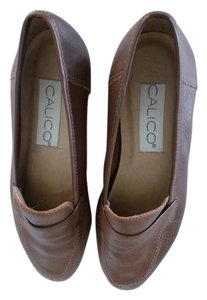 Calico Brown Flats
