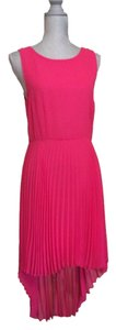 Topshop Sleeveless Pleated Lined Dress