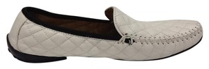 Robert Zur Leather Career Designer White Flats