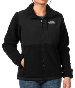 The North Face Fleece Fall Black Jacket