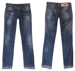 Dsquared2 Size 6 Size 30 Boyfriend Cut Jeans-Distressed