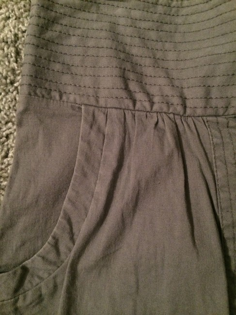 Hawks Urban Outfitters Elastic Pockets Pleats Skirt Grey