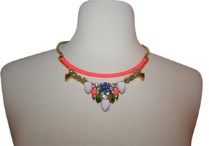 J.Crew J.CREW NEON POP CHARM COLLAR NECKLACE