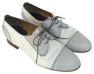 Madewell Grey & white Flats