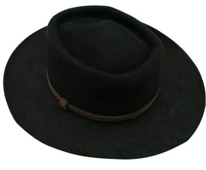 Stetson Stetson hat Black felt Size 7 Gun club Royal Flush