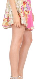 Naven Mini Skirt Pink. Orange. Yellow.