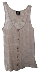 Bobeau Top Cream Stripes