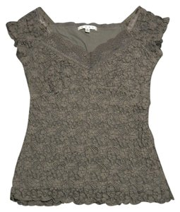 CAbi Lacy Top Brown