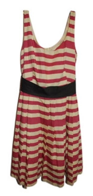 Preload https://item1.tradesy.com/images/corelynn-calter-pink-and-cream-adorable-day-above-knee-short-casual-dress-size-8-m-9385-0-0.jpg?width=400&height=650