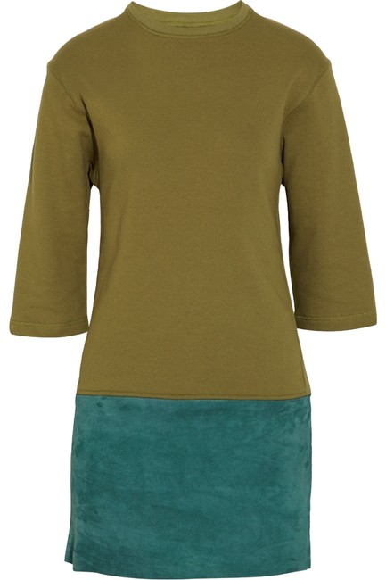 Preload https://img-static.tradesy.com/item/938541/bally-olive-and-teal-detachable-suede-mini-short-casual-dress-size-4-s-0-0-650-650.jpg