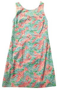 Lilly Pulitzer short dress Spa Blue Preppy Shift on Tradesy