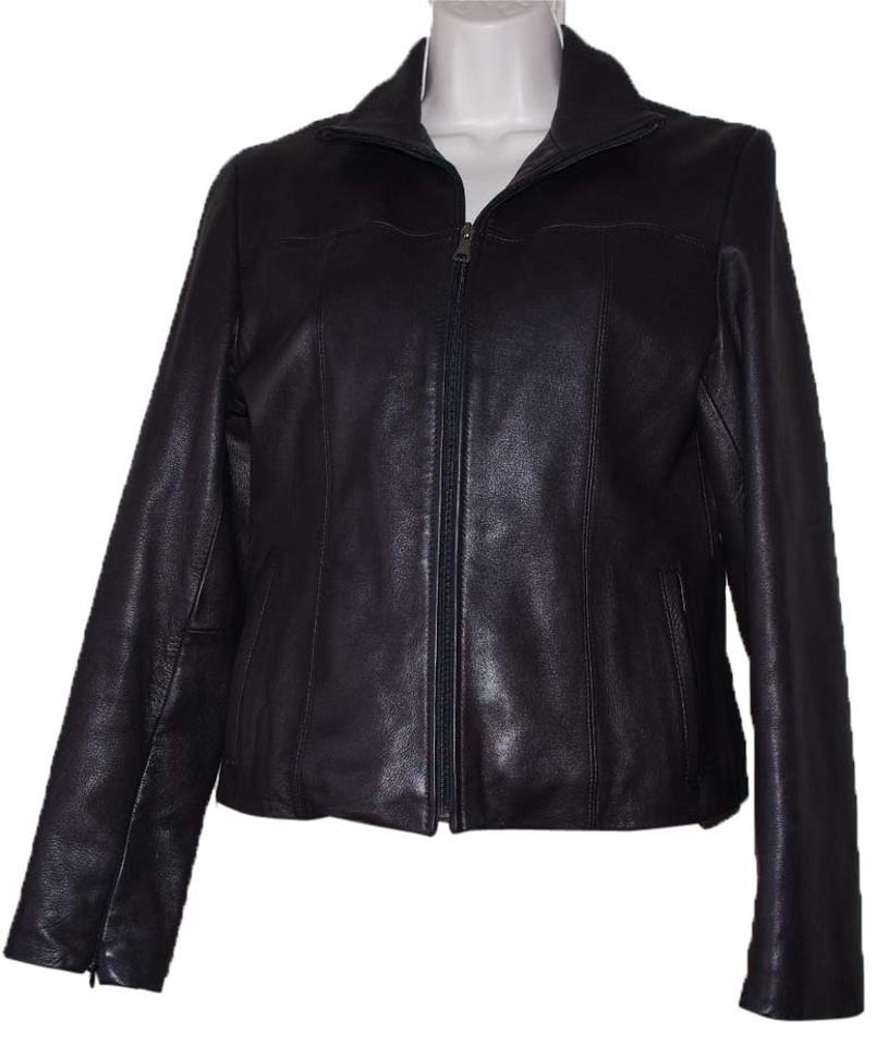 3 4 length leather motorcycle jacket