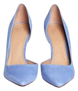 Tory Burch Mosaic Blue Pumps
