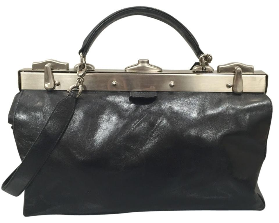 fb778003ca Balmain Lowered Price Leather with Silver Metal Hardware Shoulder ...
