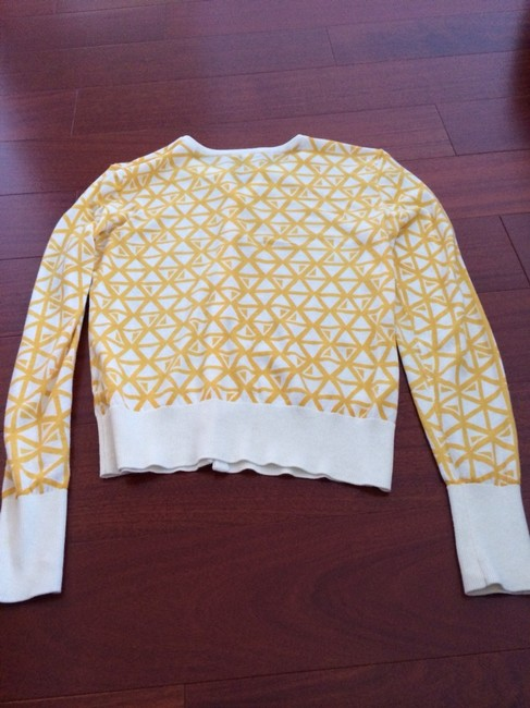 Halogen And White Triangles Geometric Cardigan