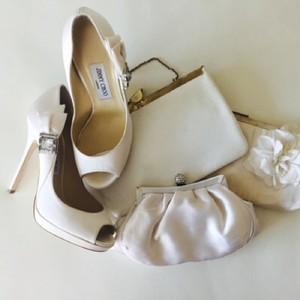 Jimmy Choo Ivory Pumps Size US 9 Regular (M, B)
