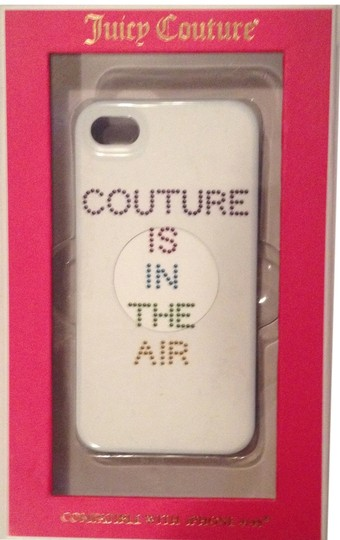 Juicy Couture Juicy Couture White Rainbow In the AIr hardshell case cover for iPhone 4/4S