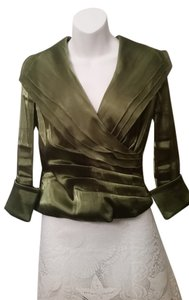 Coldwater Creek Top Olive Green