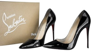 Christian Louboutin So Kate Pointed Toe Stiletto Black Pumps