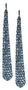 Michael Kors Michael Kors MKJ4028 Statement Women Drop Earrings Blue Crystal Pave