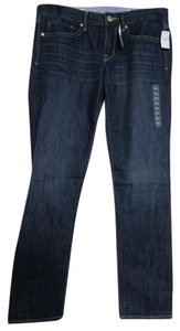 Gap Real 28/6 Short Tags Straight Leg Jeans-Dark Rinse